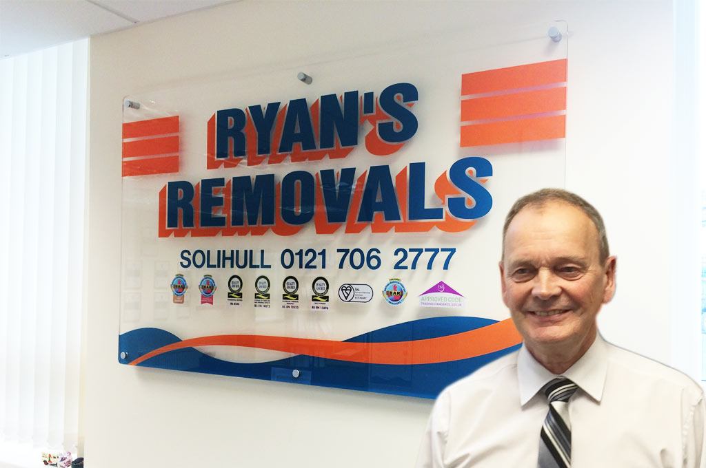 Home Removals in Solihull and Birmingham - Ryans Removals